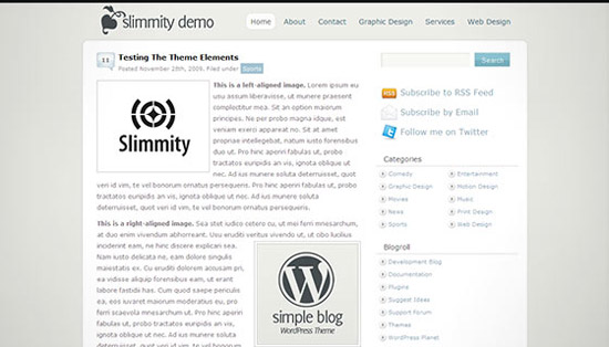 hight quality wp themes 07 Fresh and High Quality Free WordPress Themes Collection
