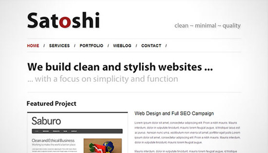 hight quality wp themes 09 Fresh and High Quality Free WordPress Themes Collection