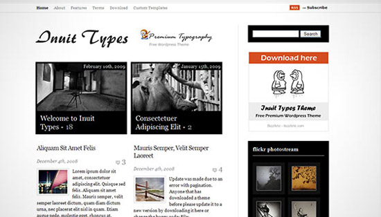 hight quality wp themes 11 Fresh and High Quality Free WordPress Themes Collection