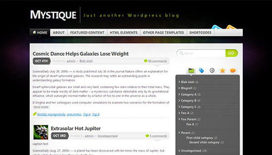 hight quality wp themes 15 Fresh and High Quality Free WordPress Themes Collection