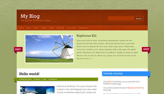 hight quality wp themes 19 Fresh and High Quality Free WordPress Themes Collection