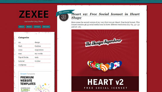 hight quality wp themes 21 Fresh and High Quality Free WordPress Themes Collection