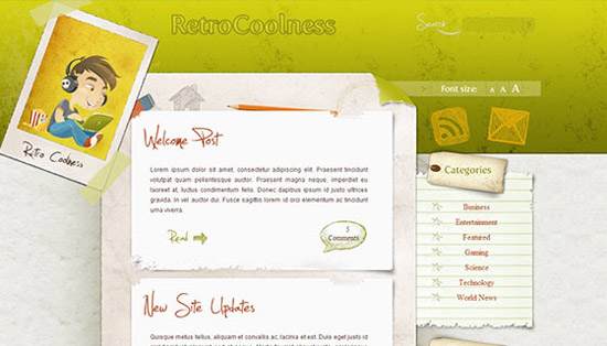 hight quality wp themes 22 Fresh and High Quality Free WordPress Themes Collection