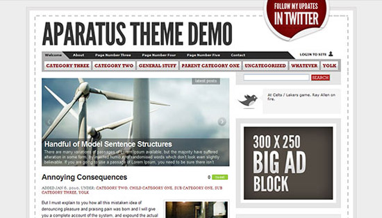 hight quality wp themes 26 Fresh and High Quality Free WordPress Themes Collection