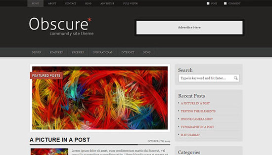 hight quality wp themes 28 Fresh and High Quality Free WordPress Themes Collection