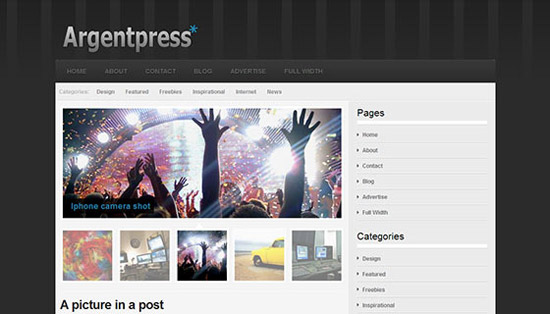 hight quality wp themes 30 Fresh and High Quality Free WordPress Themes Collection