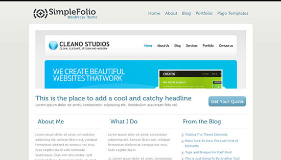 hight quality wp themes 35 Fresh and High Quality Free WordPress Themes Collection