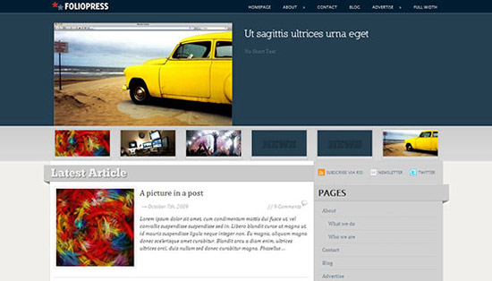 hight quality wp themes 36 Fresh and High Quality Free WordPress Themes Collection
