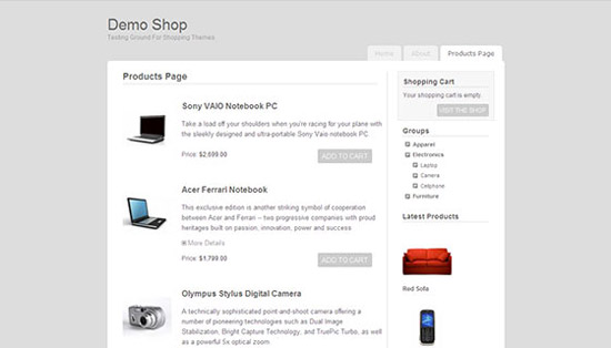 hight quality wp themes 51 Fresh and High Quality Free WordPress Themes Collection