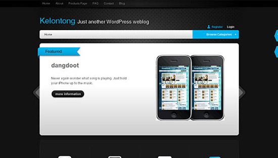 hight quality wp themes 52 Fresh and High Quality Free WordPress Themes Collection