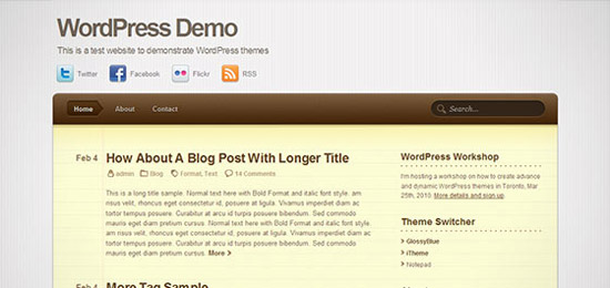 hight quality wp themes 63 Fresh and High Quality Free WordPress Themes Collection
