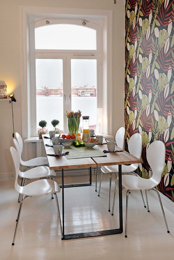 image 0142 40 Scandinavian Wallpaper Ideas Making Decorating a Breeze