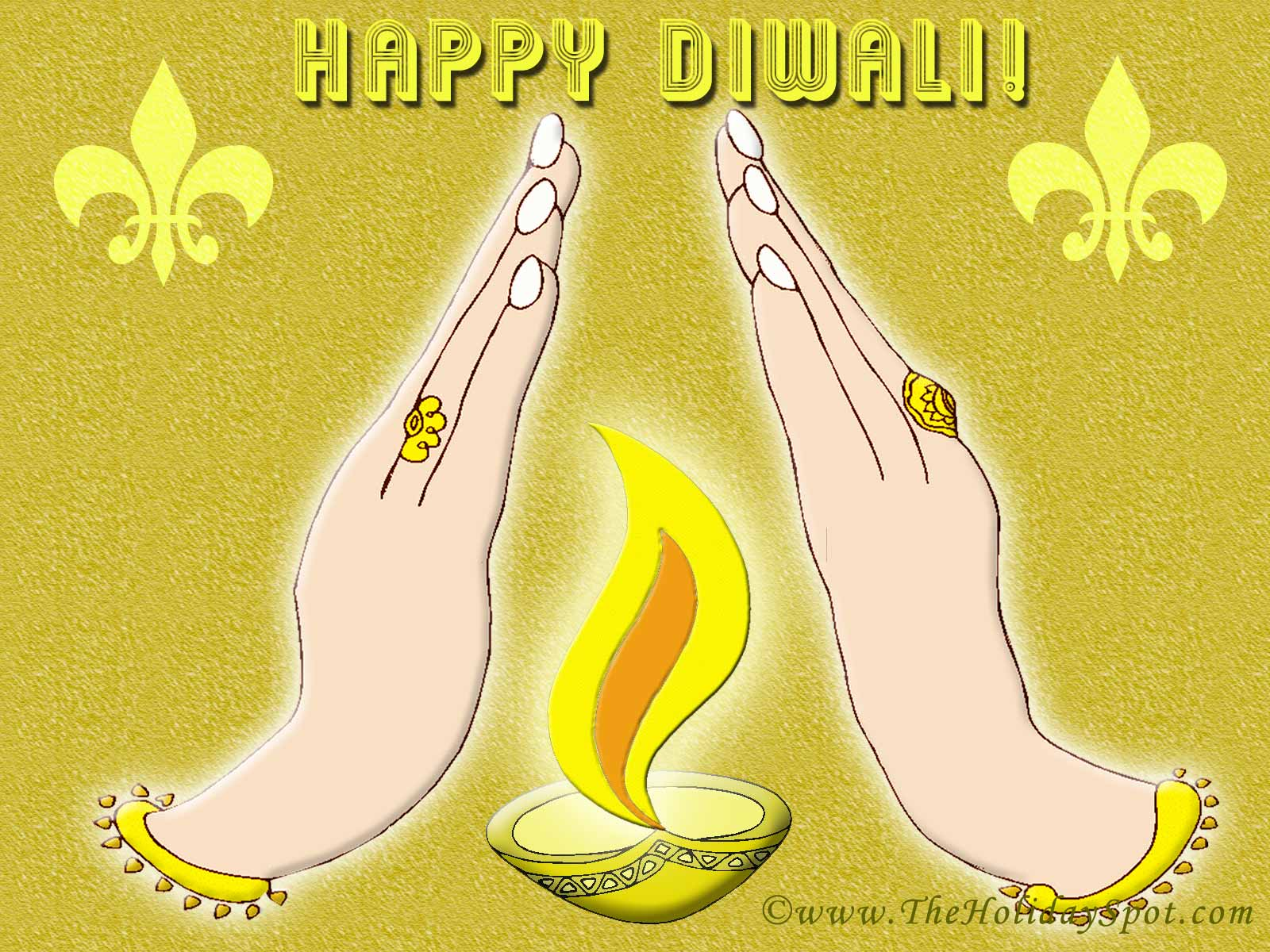hdiwali20 45 Colorful and Cutest Diwali Wallpapers