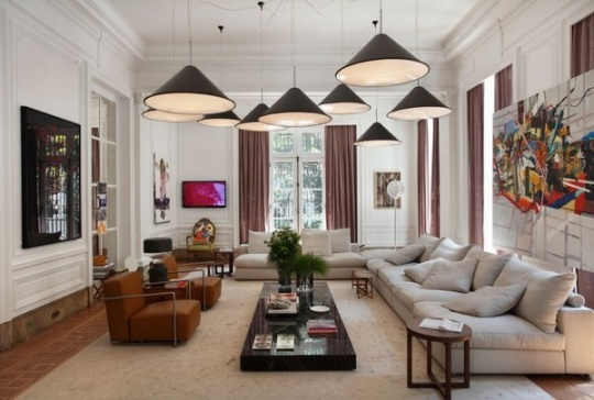 Living Room of an Art Collector