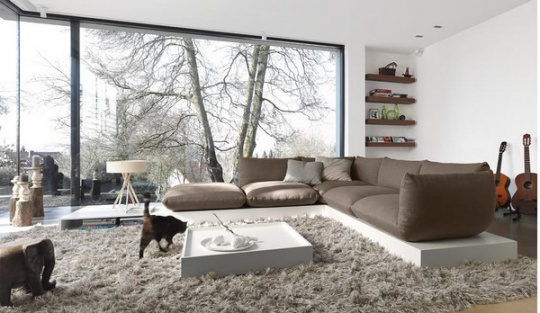 Thrilling Open Plan Living Rooms with a View