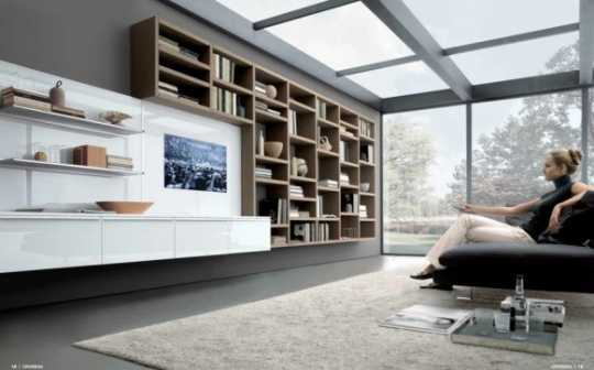 Modern Style Living Rooms
