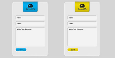 contact form with 6 color options