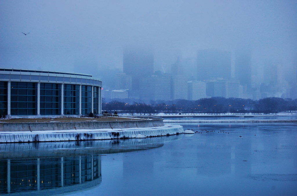 Cold and Foggy in HDR