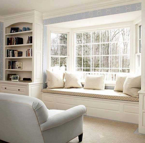 Window Seats 15 36 Cozy Window Seats and Bay Windows With a View