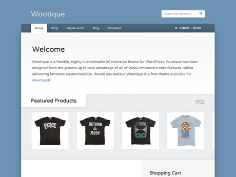 Wootique by woothemes