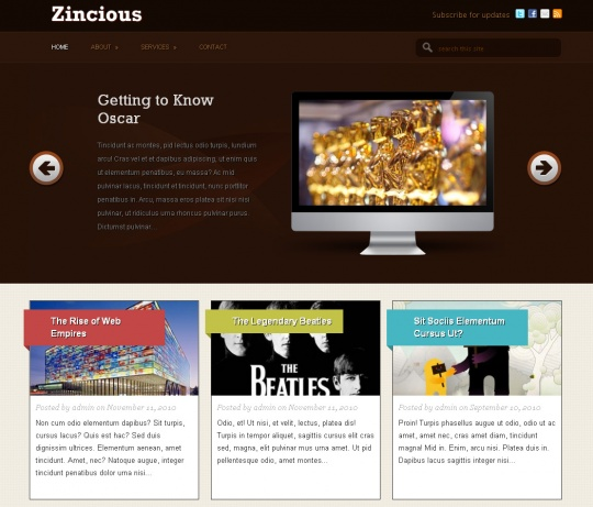 Zincious by paddsolutions
