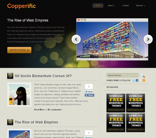 Copperific by paddsolutions