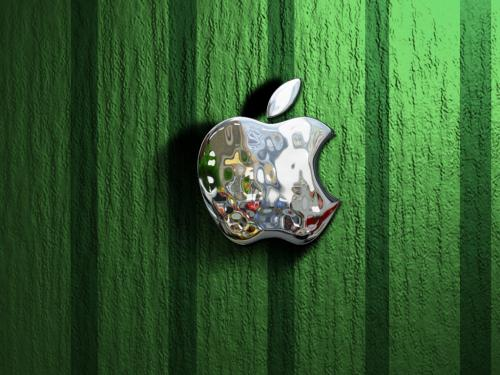 Aluminum Mac Apple Wallpaper