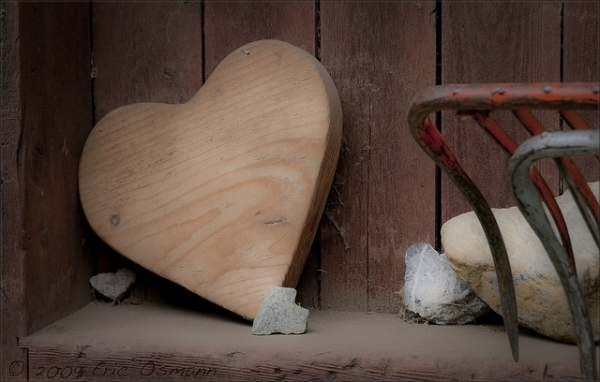 Smooth Wooden Heart