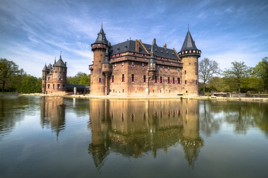 Castles in The Netherlands imaged with HDR