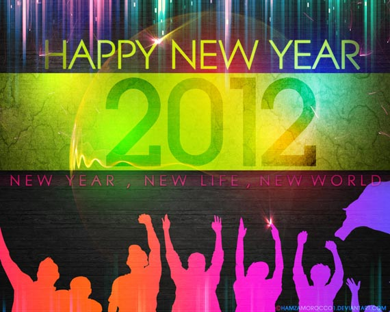 Happy New Year 2012 45 Fantastic New Year 2012 Wallpapers