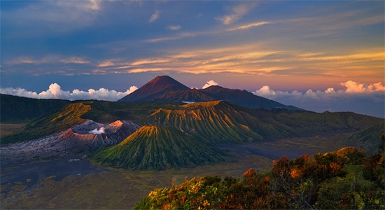 dazz Volcano Dawn Wonderland Landscape Photography Never Seen Before