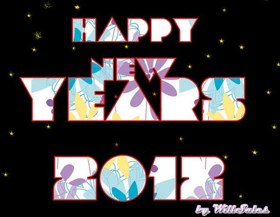 happy new year 2012 wallpaper 13 45 Fantastic New Year 2012 Wallpapers