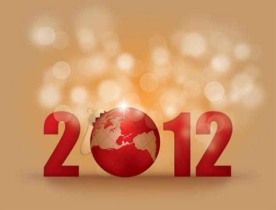 happy new year 2012 wallpaper 14 45 Fantastic New Year 2012 Wallpapers