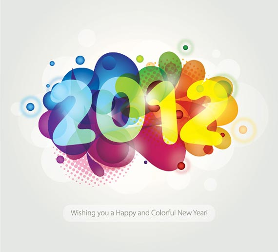 happy new year 2012 wallpaper 15 45 Fantastic New Year 2012 Wallpapers