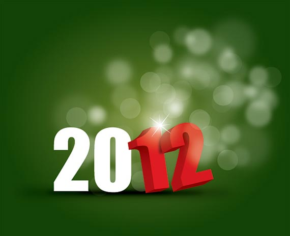 happy new year 2012 wallpaper 16 45 Fantastic New Year 2012 Wallpapers