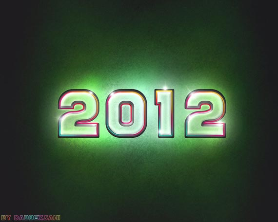 happy new year 2012 wallpaper 7 45 Fantastic New Year 2012 Wallpapers