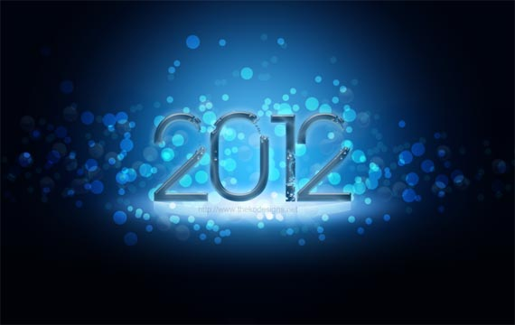 happy new year 2012 wallpaper 9 45 Fantastic New Year 2012 Wallpapers