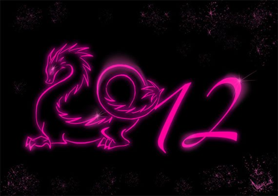 new year 2012 wallpaper 1 45 Fantastic New Year 2012 Wallpapers