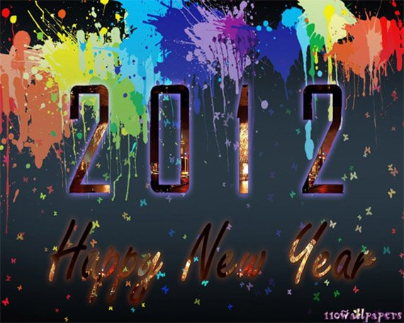 new year 2012 wallpaper 12 45 Fantastic New Year 2012 Wallpapers
