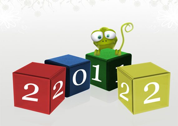 new year 2012 wallpaper 29 45 Fantastic New Year 2012 Wallpapers