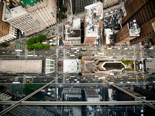 Aerial View, New York City