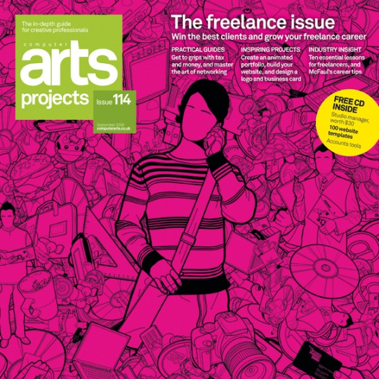 Art Direction: Computer Arts Projects Covers