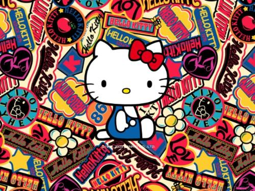 Hello Kitty Collection wallpaper