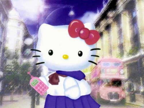 Hello Kitty School Girl