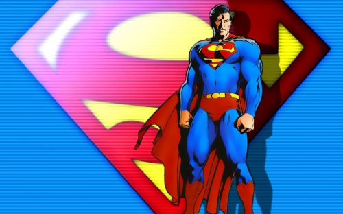 Superman With Logo