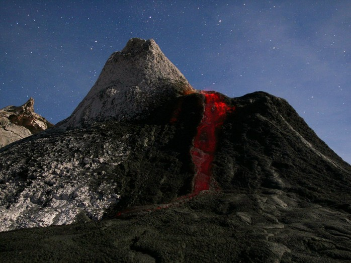Awful Volcano Photography