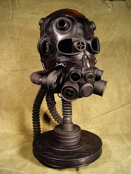 STEAMPUNK LEATHER MASKS