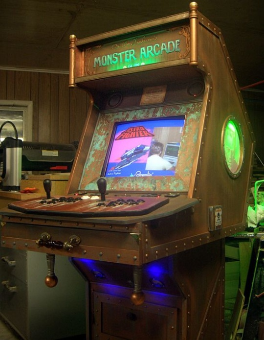 Steampunk Monster Arcade