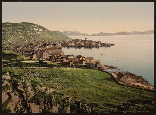 From the north, Hammerfest, Norway