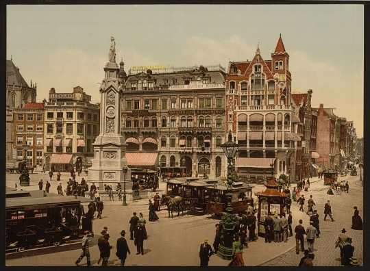 Photocroms of Holland from 1890s to 1900s